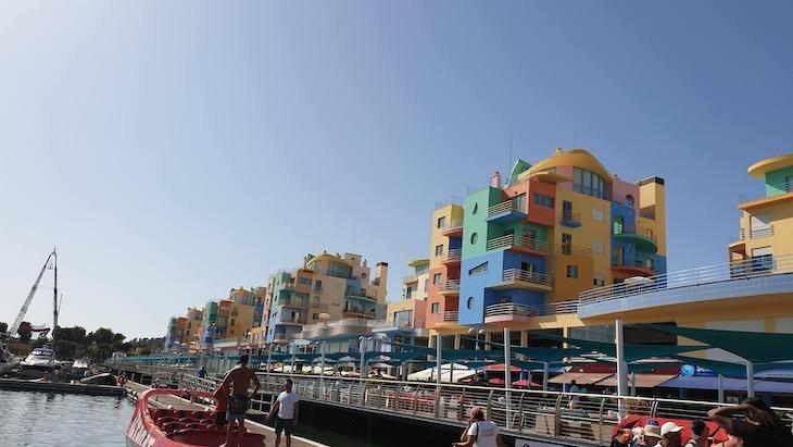 Marina nova de Albufeira - Algarve © Viaje Comigo