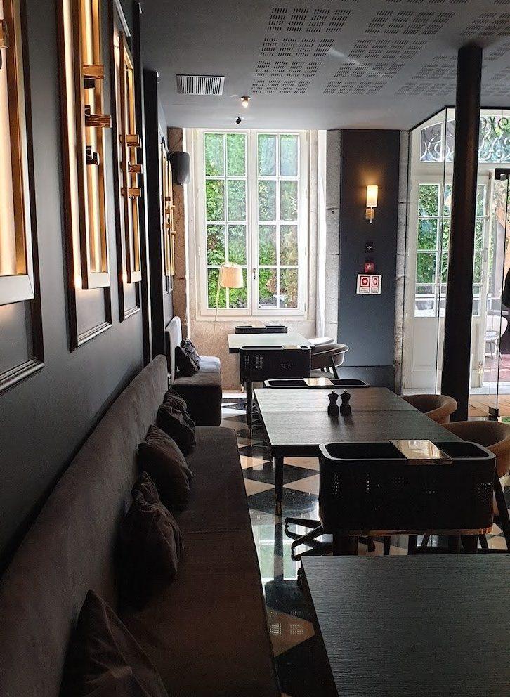 Restaurante Blind - Torel Palace Porto © Viaje Comigo
