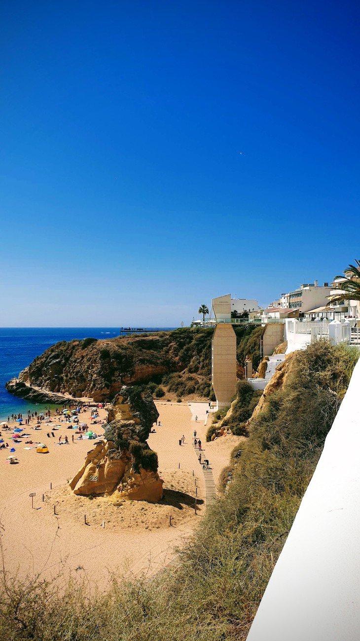 Praia do Peneco - Praias de Albufeira - Algarve © Viaje Comigo