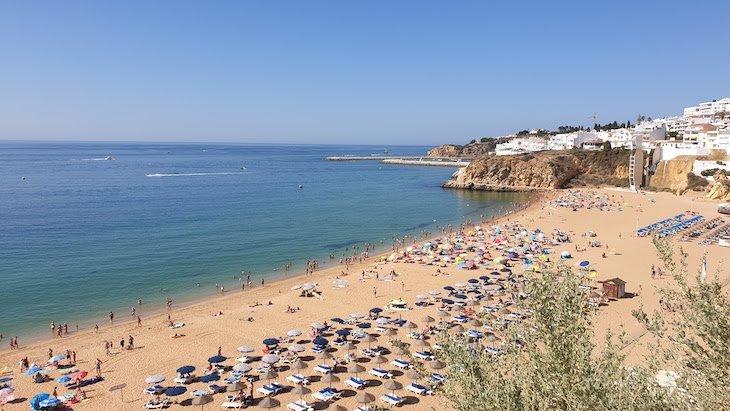 Praia dos Pescadores e Praia do Peneco - Albufeira - Algarve © Viaje Comigo