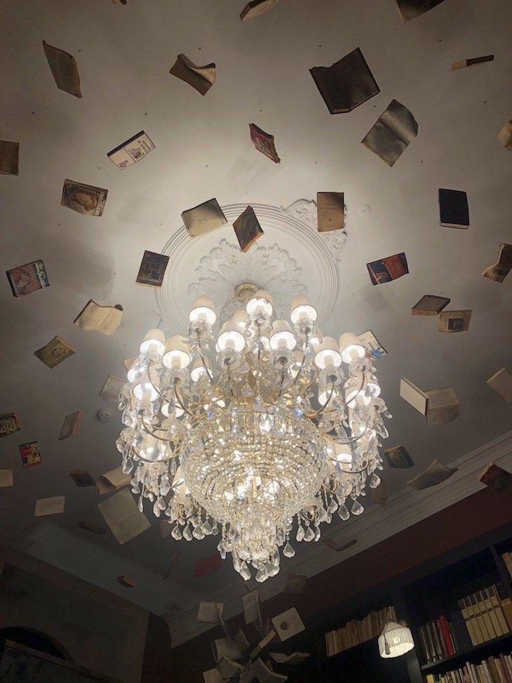 Biblioteca do Torel Palace Porto © Viaje Comigo