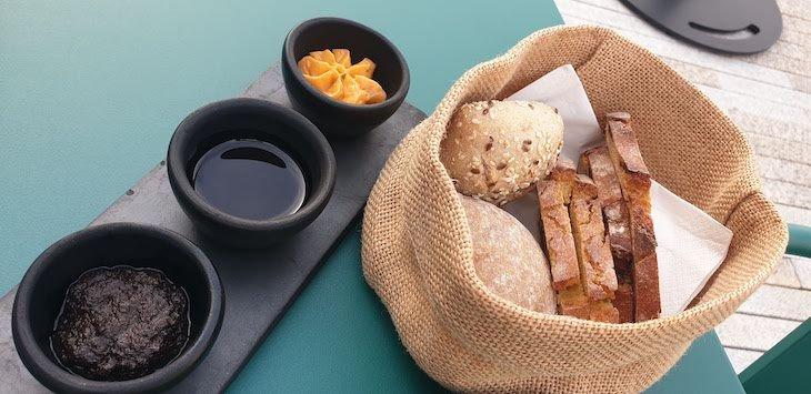 couvert Restaurantes WOW - Vila Nova de Gaia © Viaje Comigo