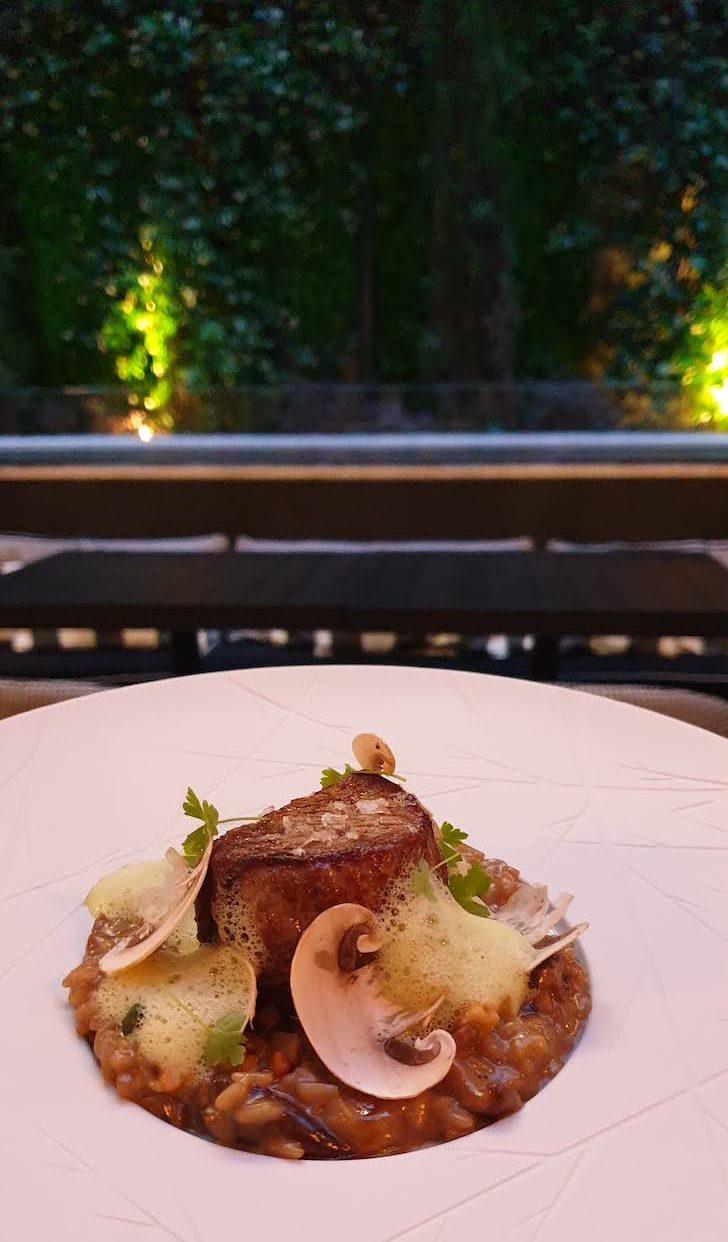 Prato de carne, Restaurante Blind - Torel Palace Porto © Viaje Comigo