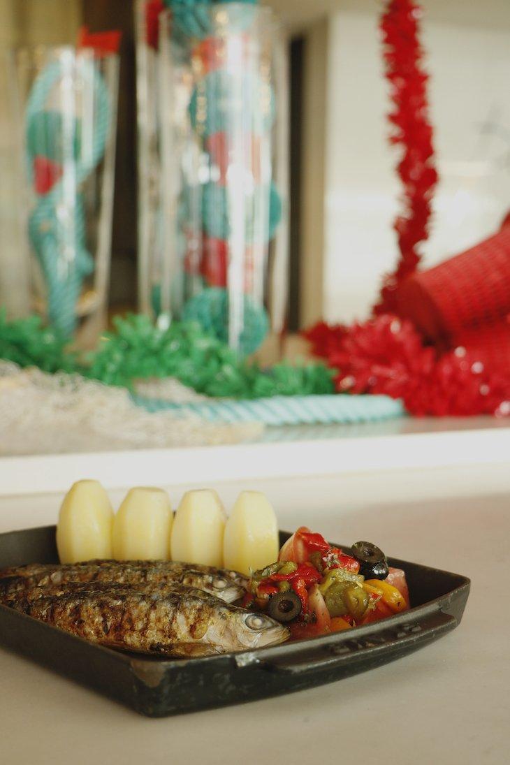Sardinhas na Brasa do Restaurante Porto Novo © Sheraton Porto