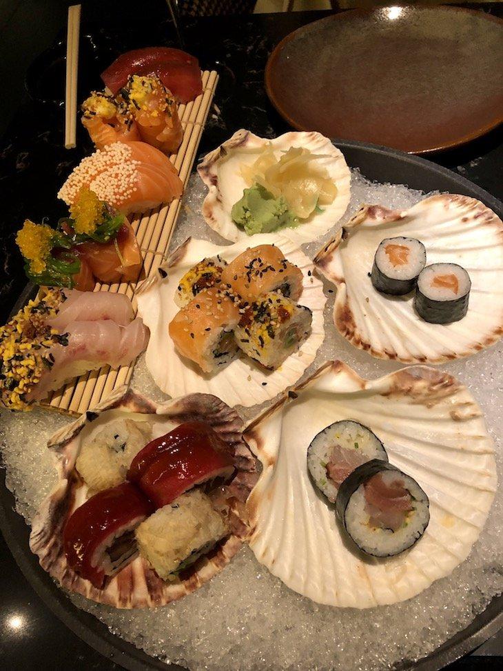 D'Avenida - sushi © Viaje Comigo