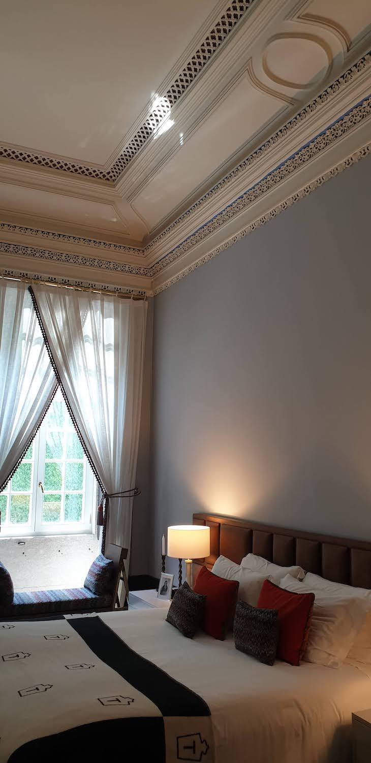 No quarto do Torel Palace Porto - Porto - Portugal © Viaje Comigo
