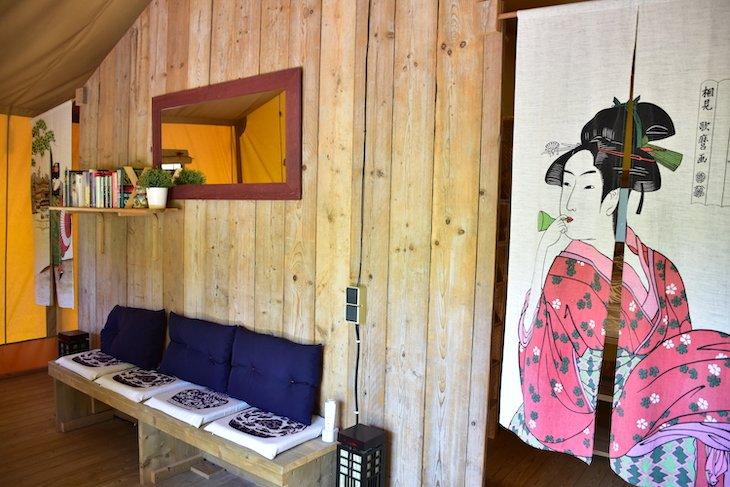 Tenda Casa Chá © Quinta Japonesa
