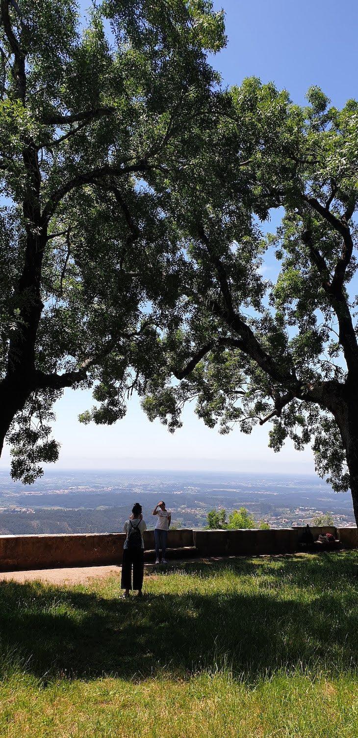 Vista das Portas de Coimbra - Mata Nacional do Bussaco - Portugal © Viaje Comigo
