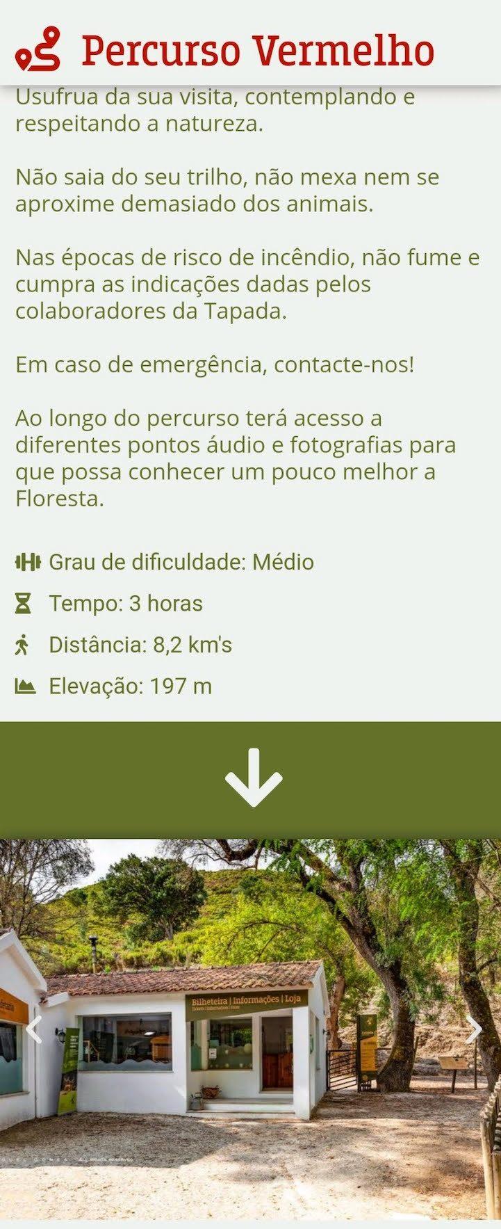 Percursos guiados da Tapada de Mafra - Portugal © Viaje Comigo