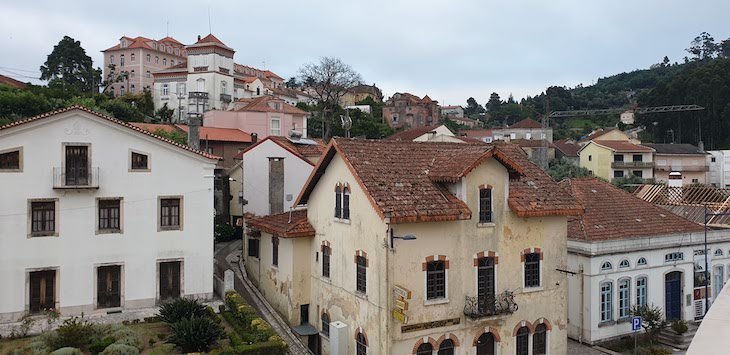 Vista do Grande Hotel Do Luso - Portugal © Viaje Comigo