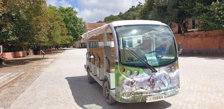 Veículo elétrico da Tapada de Mafra - Portugal © Viaje Comigo