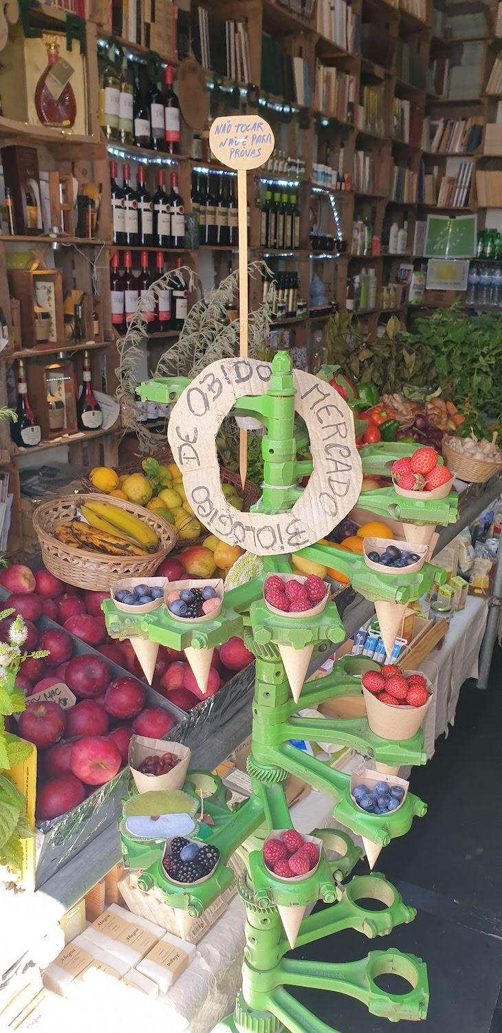 Mercado Biológico, Óbidos - Portugal © Viaje Comigo