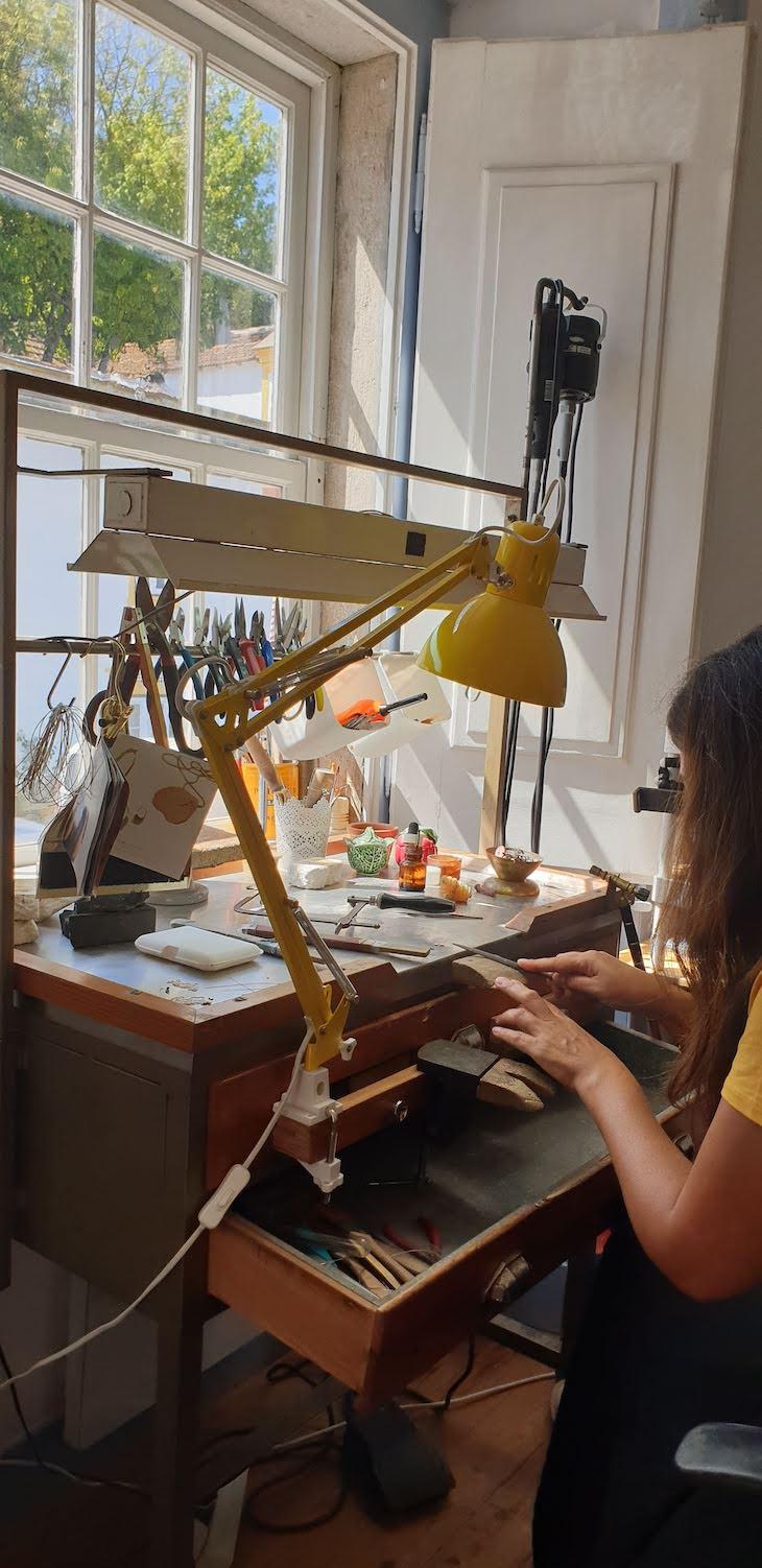 Workshop de Cecilia Ribeiro - Óbidos - Portugal © Viaje Comigo